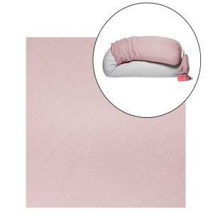 bbhugme Pregnancy Pillow Cover - Dusty Pink