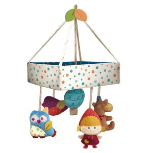 Qtot Bubo N Modi Musical Mobile with Canopy