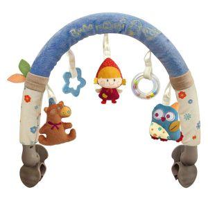 Qtot Blue Bubo N Modi Stroller Activites Toy Bar