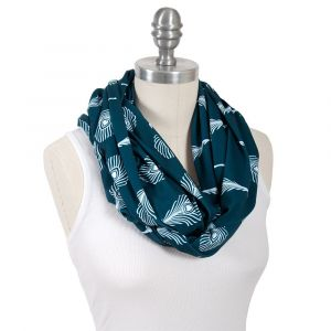 Bebe Au Lait Jersey Knit Print Mayura Nursing Scarf