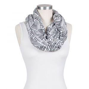 Bebe Au Lait Jersey Knit Print Montauk Nursing Scarf
