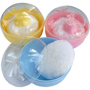 Bebecom Baby Powder Puff - Assorted Colour