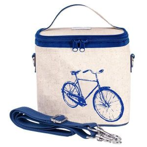 SoYoung Raw Liner Blue Bicycle Large Cooler Bag