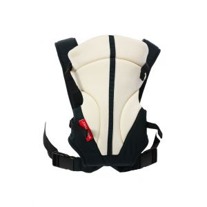 Baby Plus Beige/Navy Baby Carrier