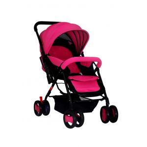 Baby Plus Pink & Black Baby Stroller