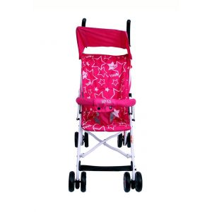 Baby Plus Rose/Red Baby Stroller