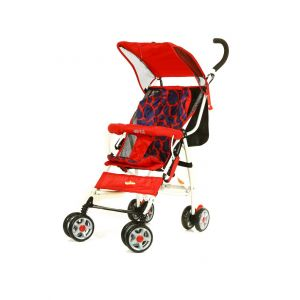 Baby Plus Blue/Red Baby Stroller