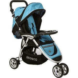 Bronco Baby Stroller Blue