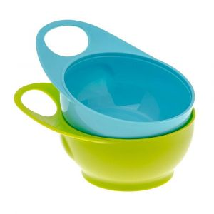 Brother Max 2 Easy-Hold Bowls - Blue/Green