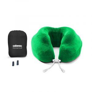 Cabeau Evolution Memory Foam Travel Neck Pillow - Emerald