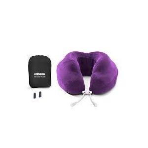 Cabeau Evolution Memory Foam Travel Neck Pillow - Violet