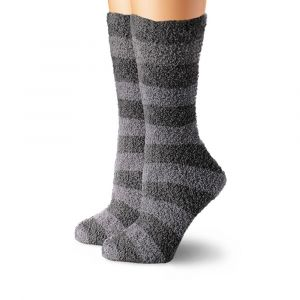 Cabeau Fluffy Socks Charcoal