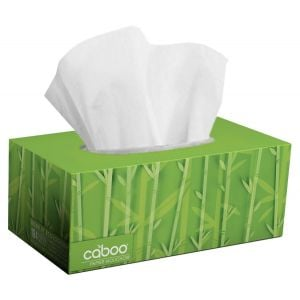Caboo - Facial Tissue Flat Box - 184 sheets