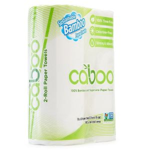 Caboo - Roll Towel - 2 pack, 115 sheet