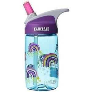 CamelBak Eddy Glitter Rainbows Kids Water Bottle - 400ml
