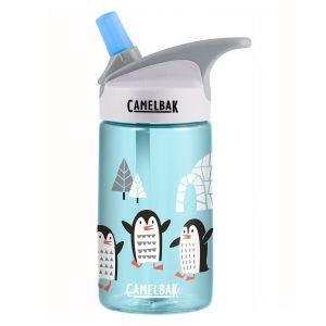 CamelBak Eddy Kids .4L Playful Penguins - Holiday Water Bottle