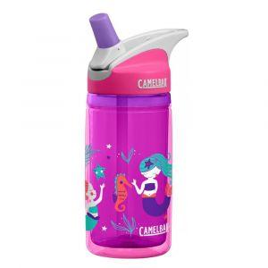 CamelBak Eddy Pink Mermaids Kids Insulated Water Bottle - 400ml