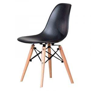 Caramel and Sun Black Kids Chair