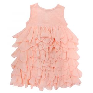 Chandamama Kids Amelia Dusty Pink Dress