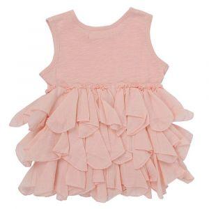 Chandamama Kids Merel Dusty Pink Romper
