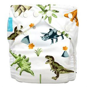 Charlie Banana Diaper 2 Inserts Dinosaurs One Size Hybrid Aio