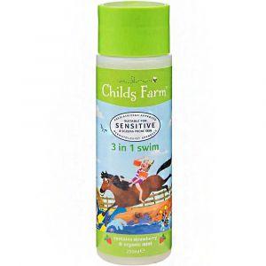 Childs Farm Swim Strawberry & Organic Mint - 3 In 1 - 250ml