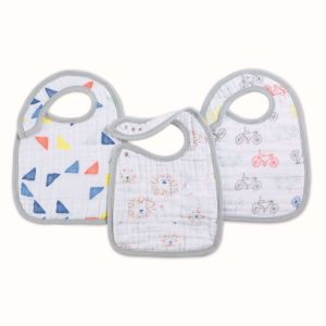 Aden + Anais Classic 3 Pack Snap Bibs Color Pop