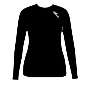 COEGA Ladies Rash Guard Black