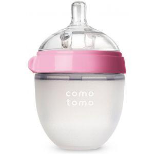 Comotomo - Natural Feel Baby Bottle - 1pc - 150 ml - Pink