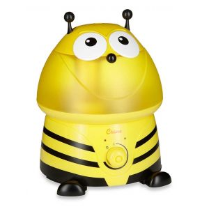 Crane Yellow Adorable Ultrasonic Cool Mist Humidifier Buzz the Bumblebee