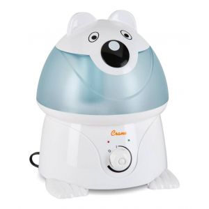 Crane Blue Adorable Ultrasonic Cool Mist Humidifier Chauncey the Polar Bear