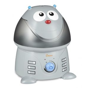 Crane GReyAdorable Ultrasonic Cool Mist Humidifier Chip The Robot