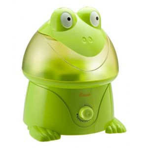 Crane Green Adorable Ultrasonic Cool Mist Humidifier Freddy the Frog