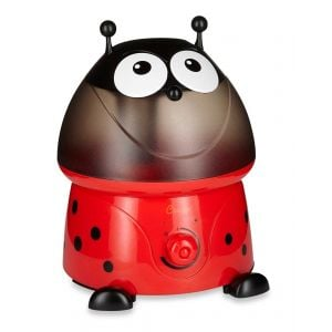 Crane Red Adorable Ultrasonic Cool Mist Humidifier Lily the Ladybug