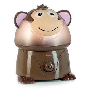 Crane Brown Adorable Ultrasonic Cool Mist Humidifier Mya the Monkey