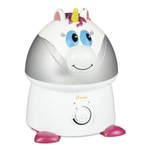 Crane White Ultrasonic Cool Mist Humidifier Misty the Unicorn