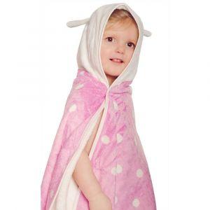 Cuddledry Cuddlebug Hooded Bath Towel