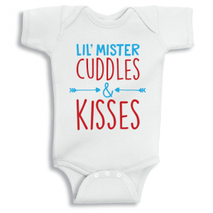Twinkle Hands Cuddles and kisses Baby Onesie, Bodysuit, Romper