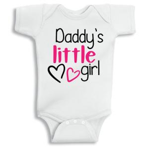 Twinkle Hands Daddy's little girl Baby Onesie, Bodysuit, Romper