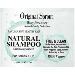 Original Sprout - Sachets - Natural Shampoo 1-25 Oz
