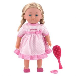 Dolls World Charlotte Pink Doll - 36cm