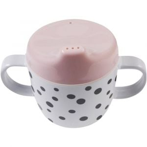 Done by Deer Powder 2 Handle Spout Cup Happy Dots