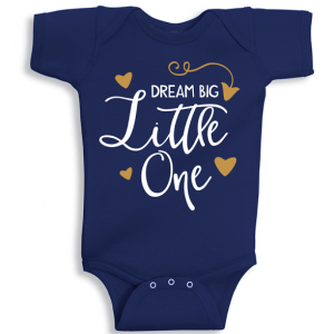 Twinkle Hands Dream Big Baby Onesie, Bodysuit, Romper