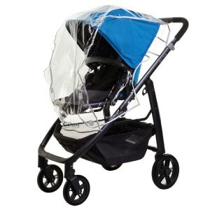 Dreambaby Stroller Weather Shield - Black Piping