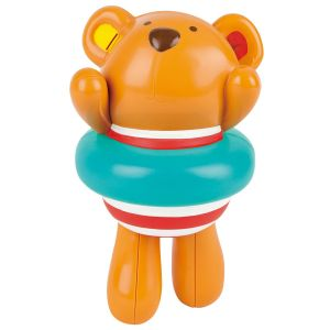Hape Kids Little Splashers Swimmer Teddy Wind-Up Bath Toy