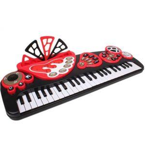 Eureka Kids Black Electronic Piano, Kid's Toy