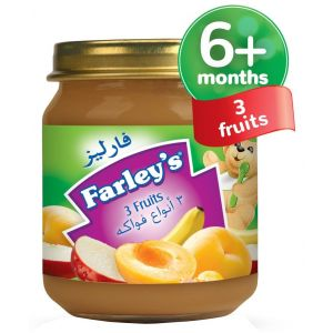 Heinz Farley's 3 Fruits Baby Food, 120g