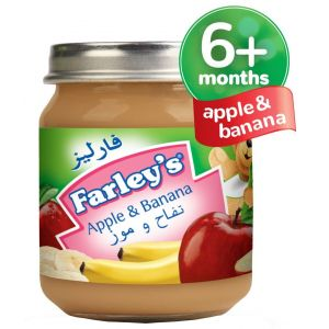 Heinz Farley's Apple & Banana Baby Food, 120g