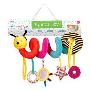 Fiesta Crafts Bee Spiral Toy
