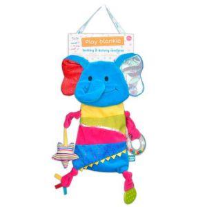 Fiesta Crafts Elephant Blankie Toy